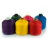 bright colors wool yarn cones