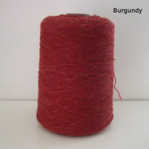wool yarn weaving burgundy name