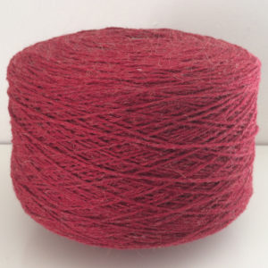 wool yarn burgundy